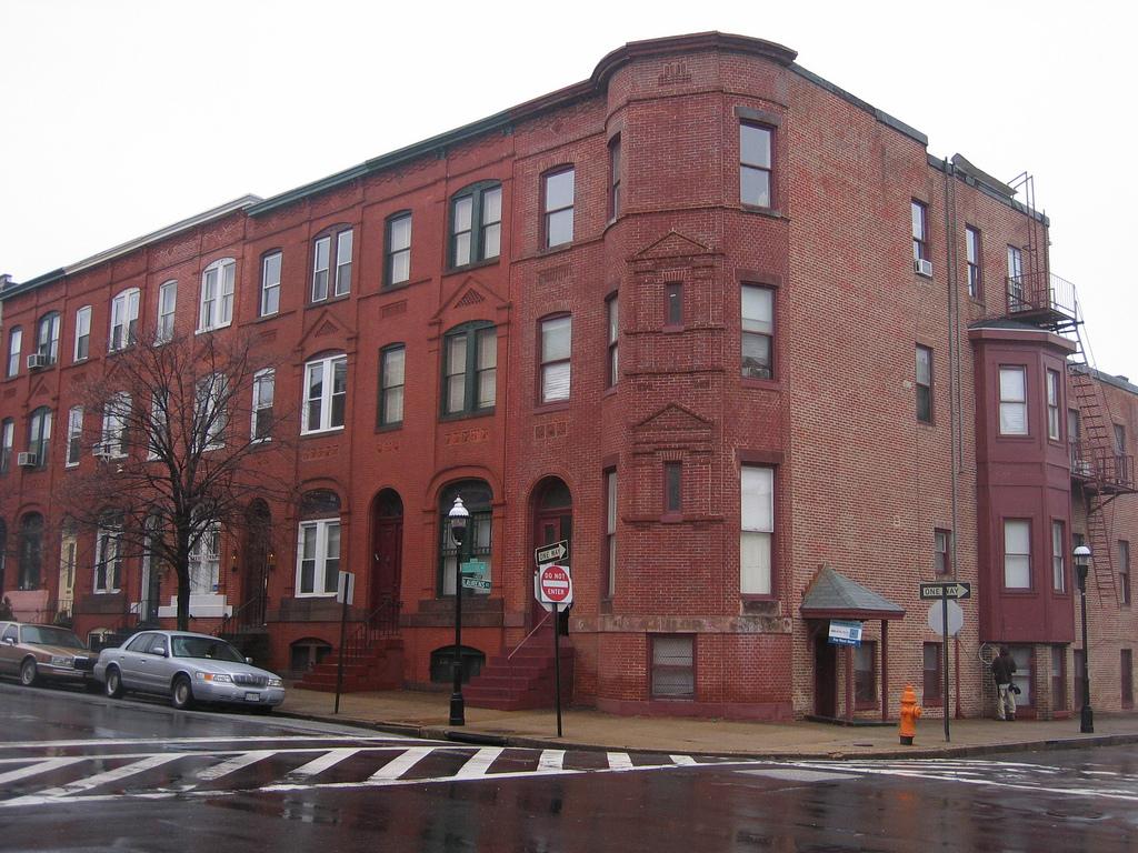 Exterior, 1805 Madison Avenue (2009)