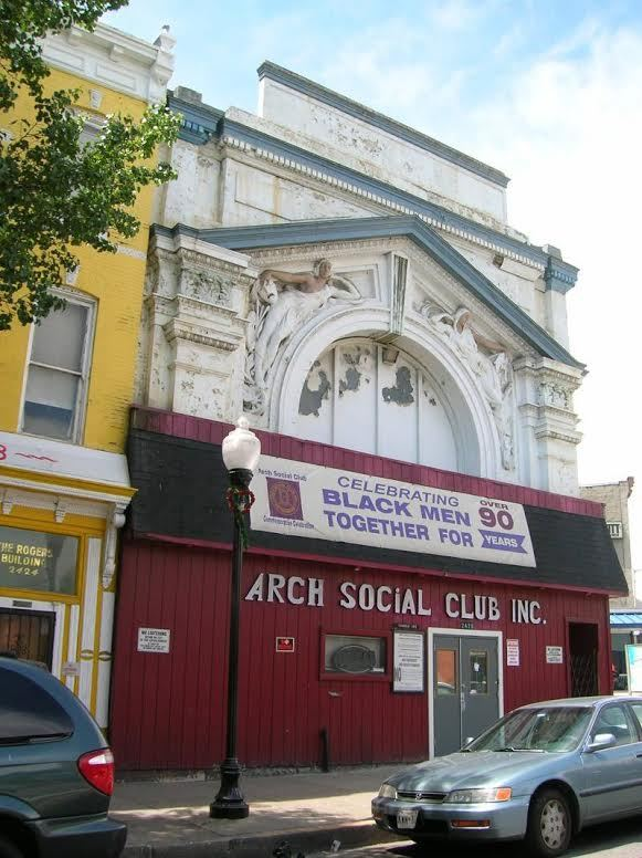Arch Social Club before Renovation (c. 2013)