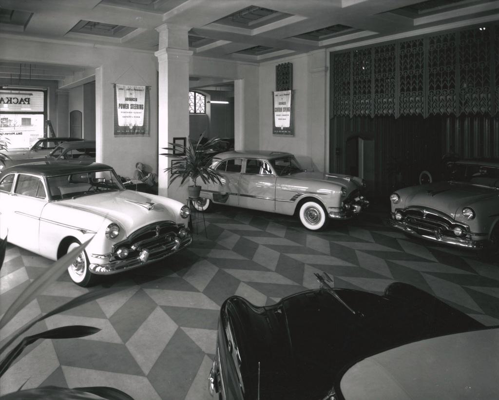 Interior, Zell Motor Car Company Showroom (1953)