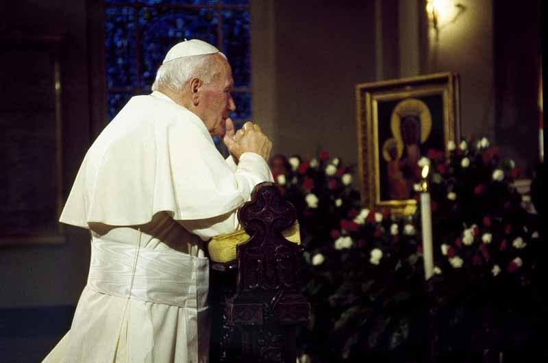 Pope John Paul II, Baltimore Basilica (1995)