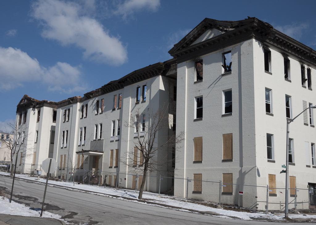 Former Carver Hall Aparments