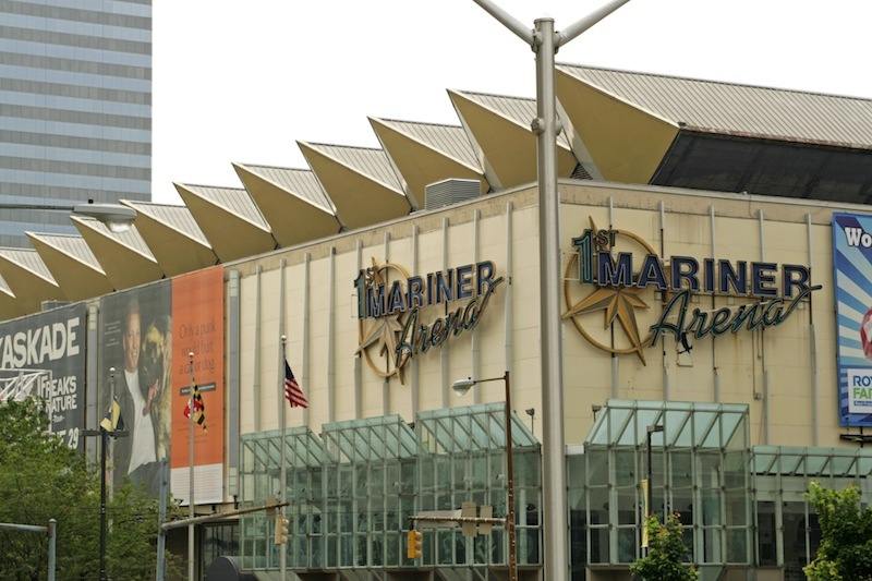 Detail, First Mariner Arena (2012)