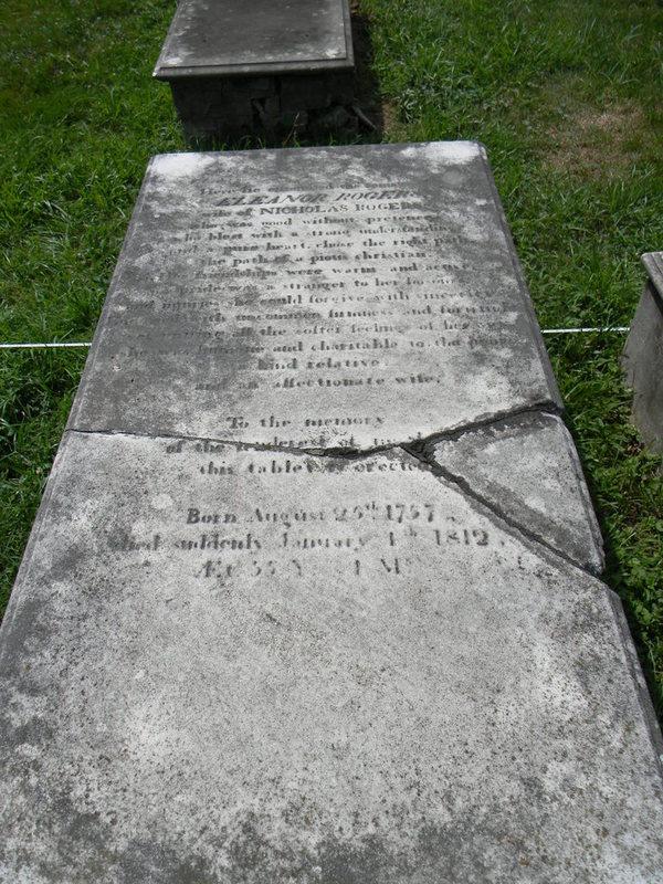 Eleanor Rogers Grave, Rogers Buchanan Cemetery