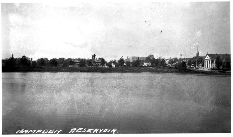 Hampden Reservoir (c. 1900)