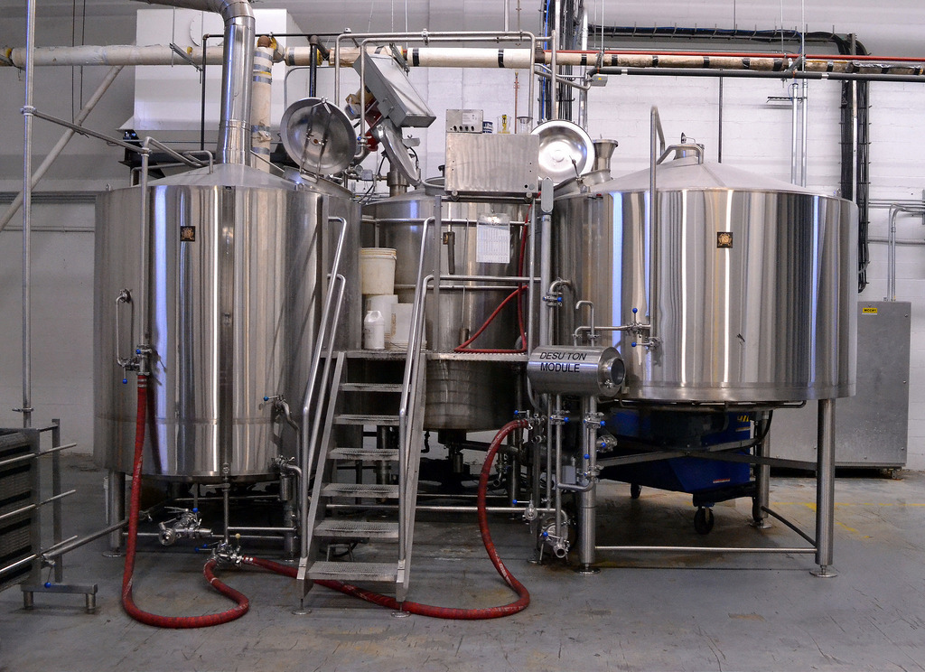 Equipment, Peabody Heights Brewery