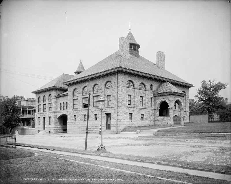 Bennett Hall and Annex (c. 1900)