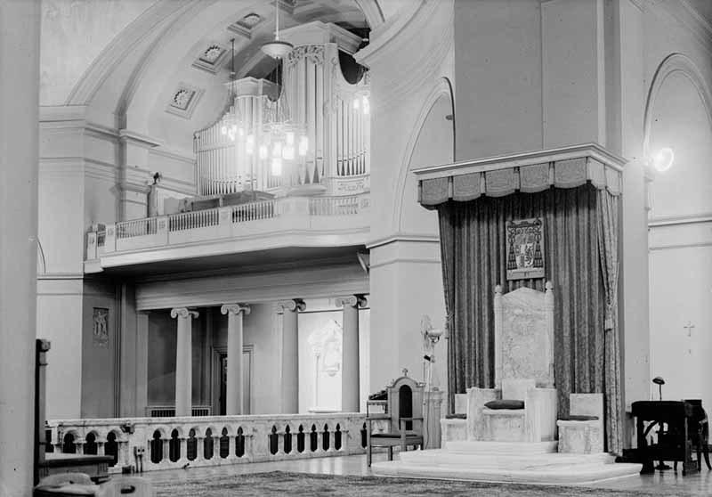 Detail, Basilica of the Assumption (1958)