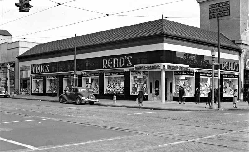 Read's Drug Store, North Avenue Market (1929)