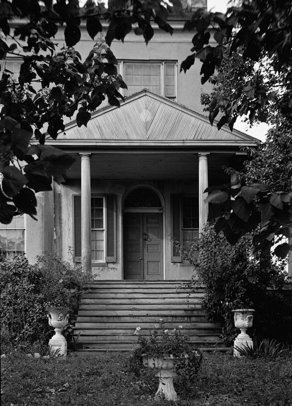 Entrance, Perry Hall Mansion (1936)