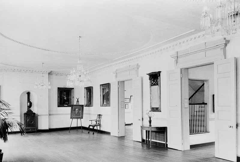 Interior, Peale Museum (1936)