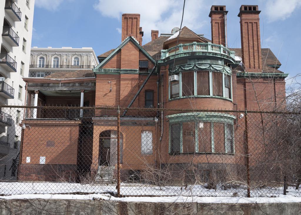 Rear, Emerson Mansion (2015)