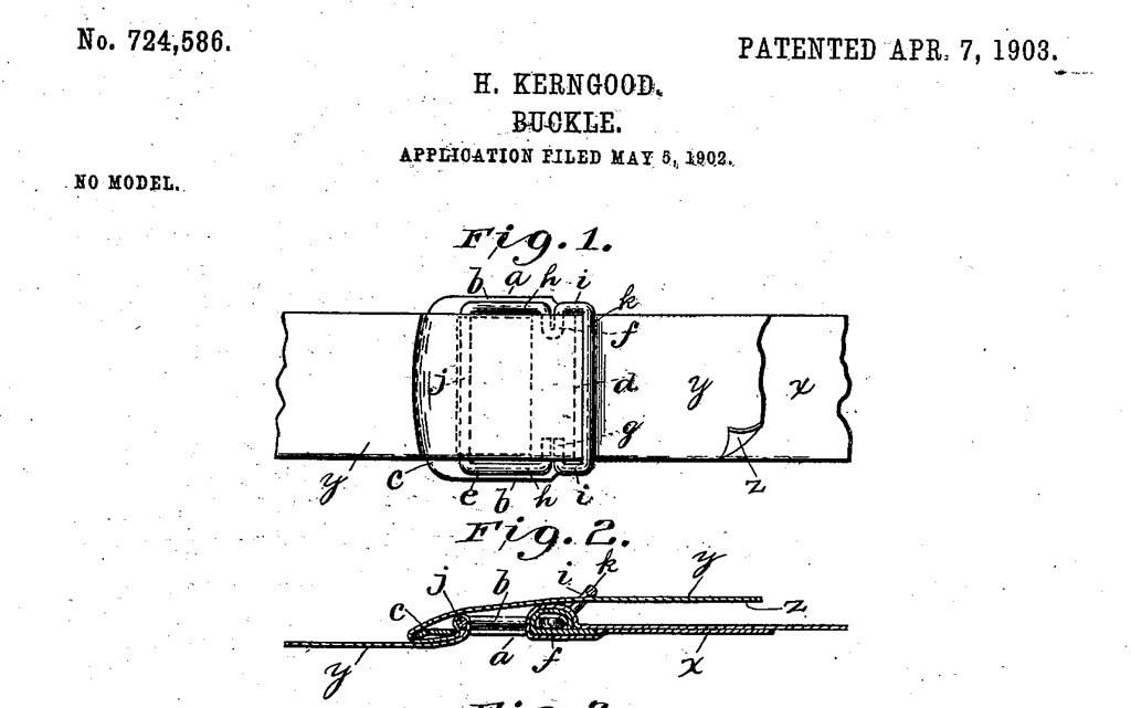 """H. Kerngood, Buckle"""