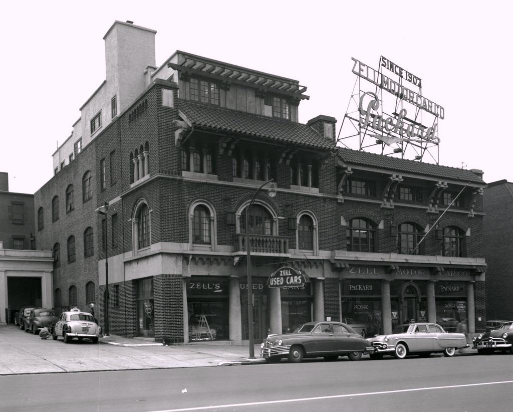Exterior, Zell Motor Car Company Showroom (1953)