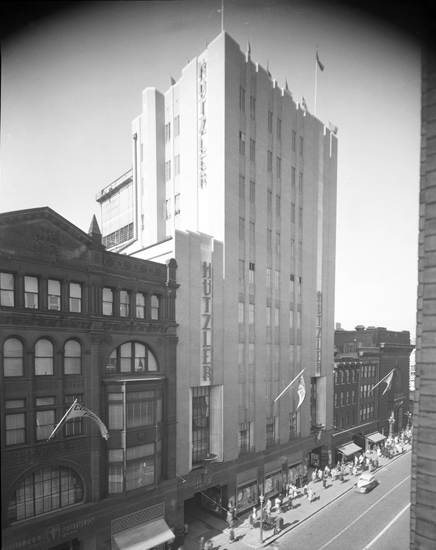 Hutzler's Palace and Tower Buildings (1942)
