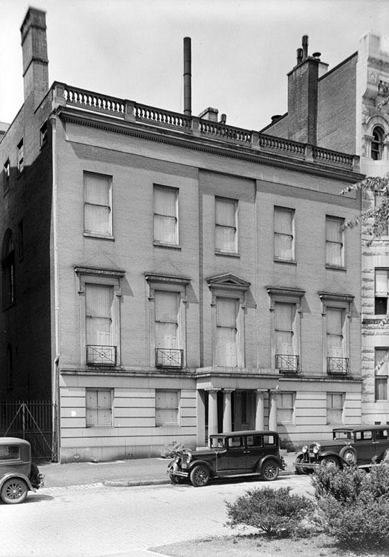 Blanchard Randall House, 1936