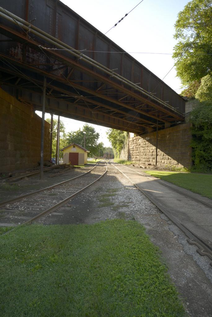 Falls Road tracks, Baltimore Streetcar Museum (2015)