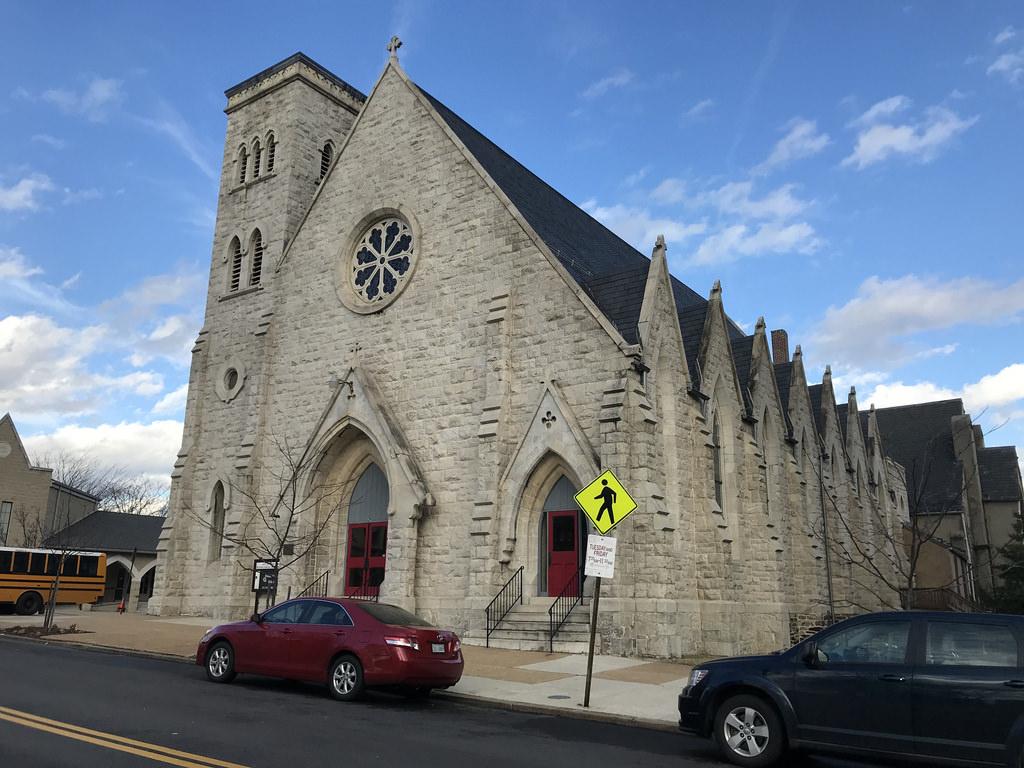 St.James' Church, 2018 February 15. Baltimore Heritage (CC0).