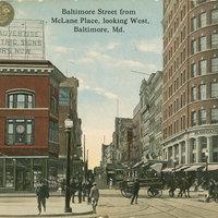 Baltimore Street looking west, ca 1914